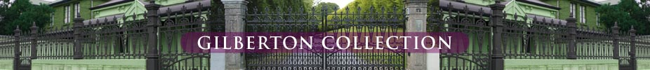A range of cast iron gates and railings