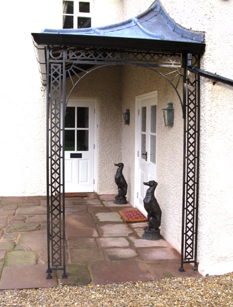 Porches & Verandas, Canopies, Verandahs in Wrought Iron