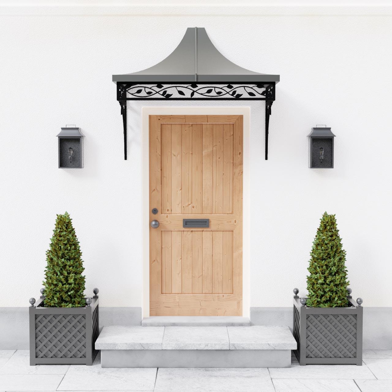 Roseleaf Metal Entrance Door Canopy