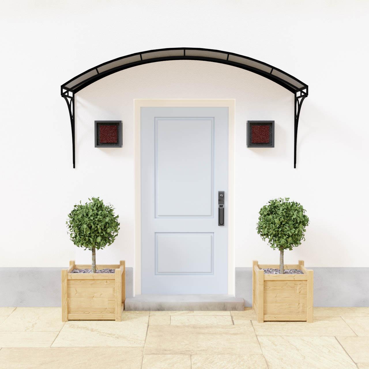 Segmental Metal Entrance Door Canopy