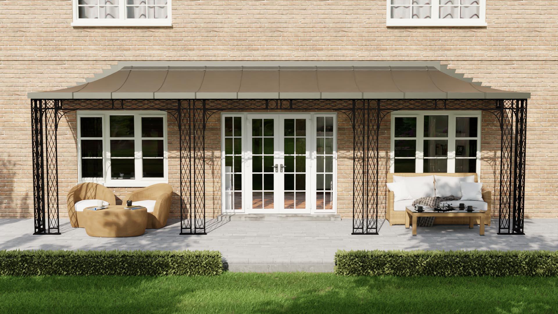 Metal Canopy, Porch & Veranda Styles