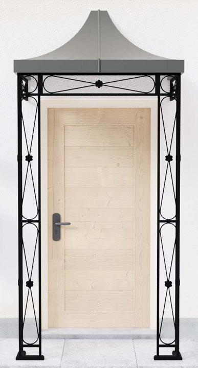Henley Front Door Metal Porch