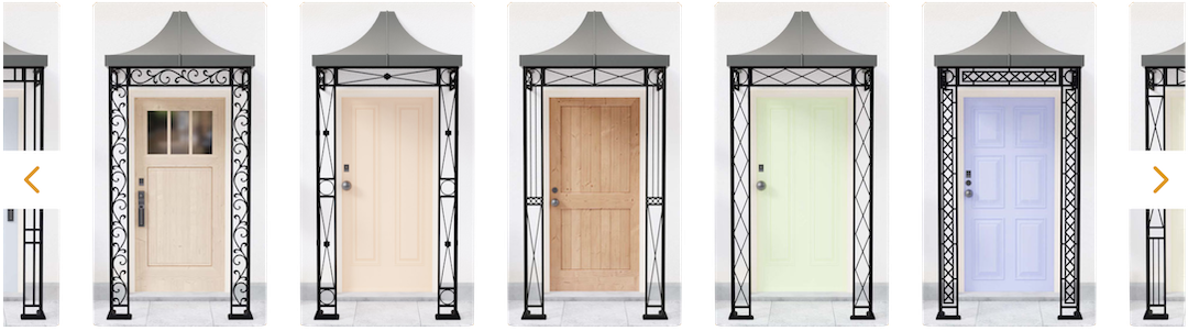 Wrought Iron Porch Styles