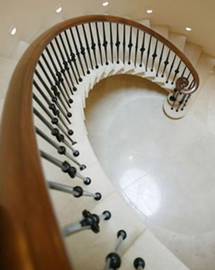 Helical Staircase Balustrade