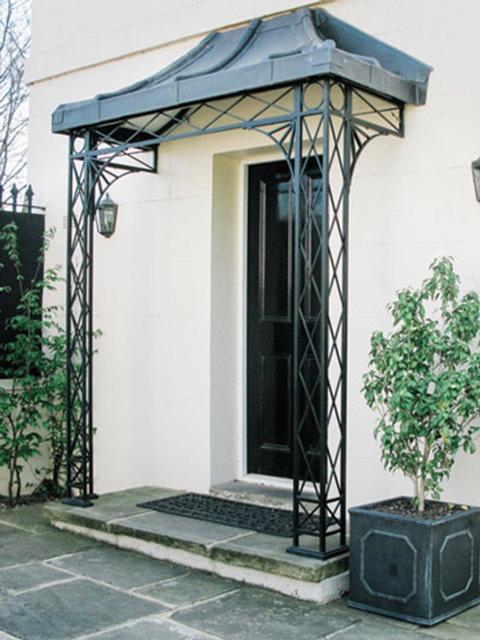Metal Porch