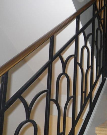 Wrought Iron Balustrade Railings
