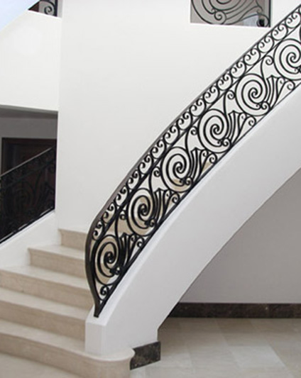 Georgian Style Cast Iron Balustrade