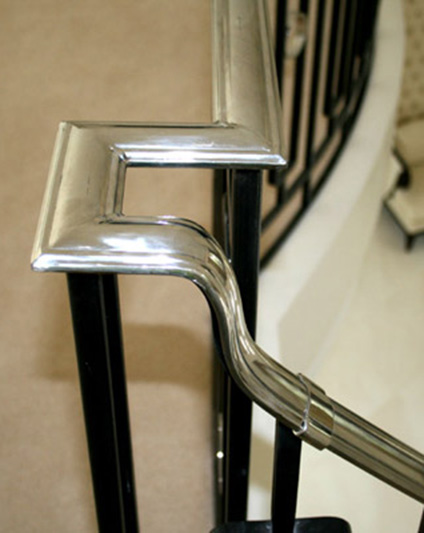 Staircase Steel Handrails